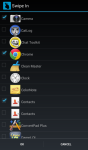 Swipe-In Settings Adjuster- Brightness WiFi etc screenshot 5/5
