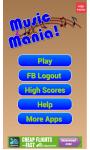 Music Mania Word Game screenshot 1/4