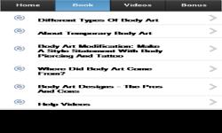 Body Art Tutorial screenshot 2/3