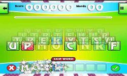 Word Scrambler Best Scrabble Game to Learn English screenshot 2/6