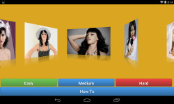 Katy Perry jigsaw puzzle game screenshot 2/4