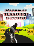 Highway Terrorist Shootout screenshot 1/4