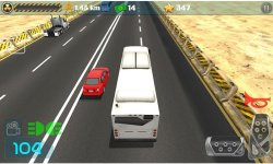 Freeway Racer Bus Driving screenshot 2/4