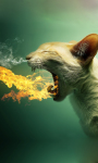 Flaming Cat Live Wallpaper screenshot 1/3