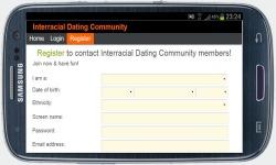 Interracial Dating Community screenshot 3/4