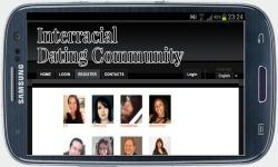 Interracial Dating Community screenshot 4/4