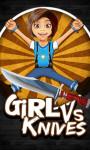 Girl Vs Knives - Free screenshot 1/4