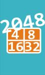 2048 math puzzle game screenshot 1/2