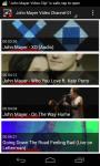 John Mayer Video Clip screenshot 1/6