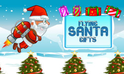 Flying Santa Gifts screenshot 1/5