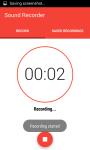 Sound Recorder Easy screenshot 2/5