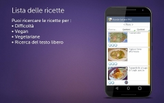 Ricette Italiane PRO private screenshot 1/6