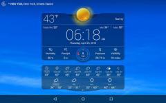 Weather Live proper screenshot 2/6