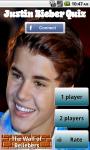 Justin Bieber Test Quizz screenshot 1/5