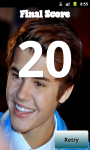 Justin Bieber Test Quizz screenshot 4/5