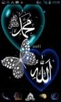 Allah Islamic Butterfly LWP screenshot 2/3