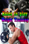 Rules to play Weight Training  screenshot 1/3