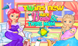 Twins New Baby Born and Twins Mom screenshot 1/6