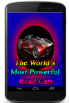 The worlds most Powerful Road Cars screenshot 1/3