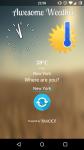 Awesome Weather screenshot 1/1