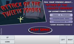 Attack of Tweety Zombies screenshot 1/4