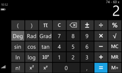 New super calculator screenshot 1/1