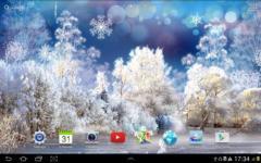 Snowfall Live Wallpaper special screenshot 6/6