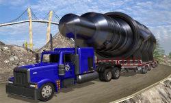 Construction Cargo Truck 3dsim screenshot 1/5