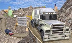 Construction Cargo Truck 3dsim screenshot 2/5