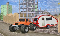Construction Cargo Truck 3dsim screenshot 4/5