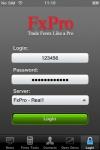 FxPro iTrader screenshot 1/1