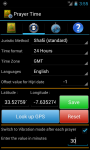 Islamic Prayer Times with azan and Qibla compass screenshot 2/4