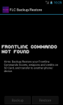 FLCBackup - Frontlie Commando Backup screenshot 2/3