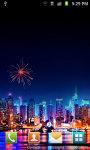 Christmas NewYear Fireworks Live Wallpaper screenshot 3/4