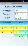 Electrical Calculator Free screenshot 2/4