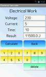 Electrical Calculator Free screenshot 3/4