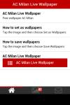AC Milan Live Wallpaper Images screenshot 2/6