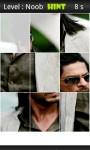 Shah Rukh Khan Jigsaw Puzzle screenshot 3/5