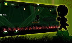 Alien walk on Green Wonderland screenshot 3/5