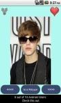 Justin Bieber Droid Wallpapers free screenshot 3/3