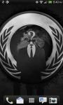 Anonymous Mask Live Wallpaper screenshot 2/2