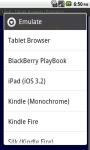 Tablet Browser screenshot 1/6