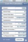 Loan Pro Calculator screenshot 1/1