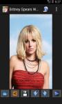 Britney Spears Wallpaper App screenshot 4/4