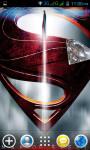 Superman Live Wallpapers screenshot 2/4