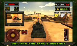 Tank Hero 3D Game screenshot 4/6