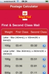 Postage Calculator for Royal Mail Stamp Prices screenshot 1/1