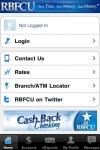 RBFCU Mobile screenshot 1/1
