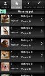 Rate My Pet screenshot 2/3