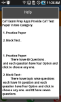 CAT Exam Prep screenshot 4/6